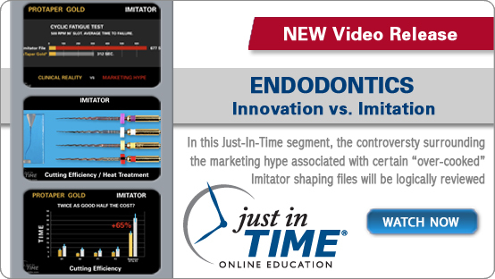Innovation/Imitator Just-In-Time Video