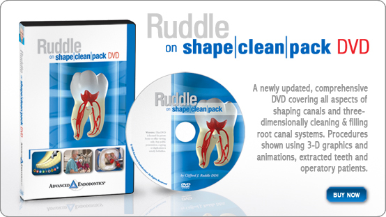 Ruddle on Shape-Clean-Pack DVD
