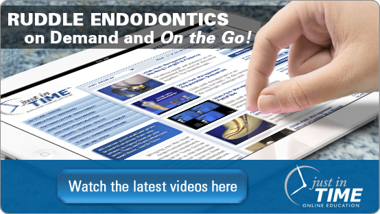 Just In Time Endodontic Learning